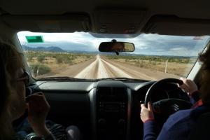 B Driving to Arkaroola