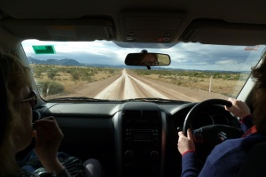 B Driving to Arkaroola