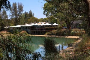 B Maggie Beer's from across the lake