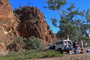 A Camping near Arkaroola