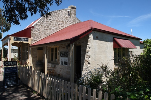 Many of Robe's restaurants, galleries and B&Bs are based in classic old buildings